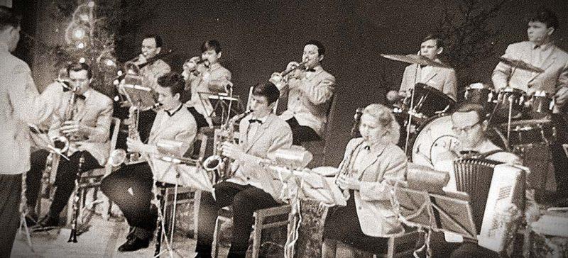 духовой оркестр ДК Гознака, 1970-е годы